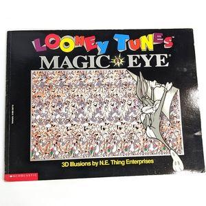 Vintage 1995 Looney Tunes Magic Eye